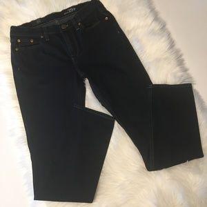 J Crew Reid Dark Wash Jeans Size 29P